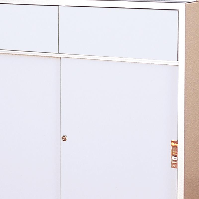 木製薬品戸棚ホワイト