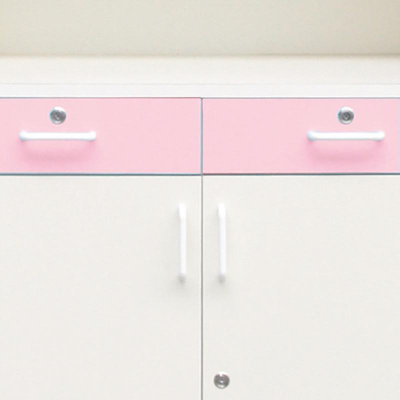 デラックス薬品戸棚ピンク