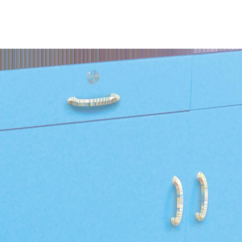移動式薬品戸棚ブルー