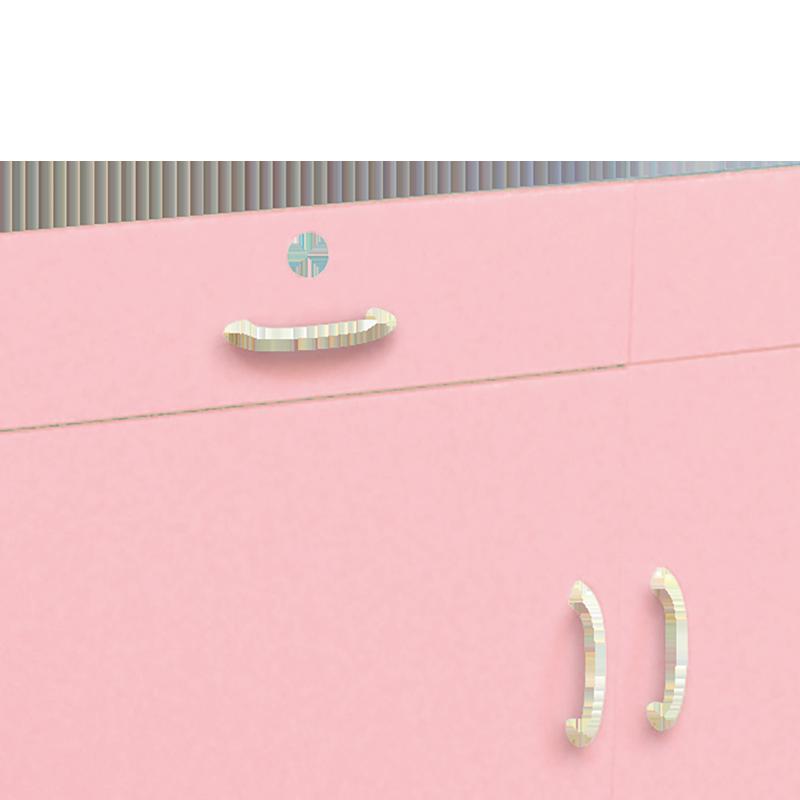 移動式薬品戸棚ピンク