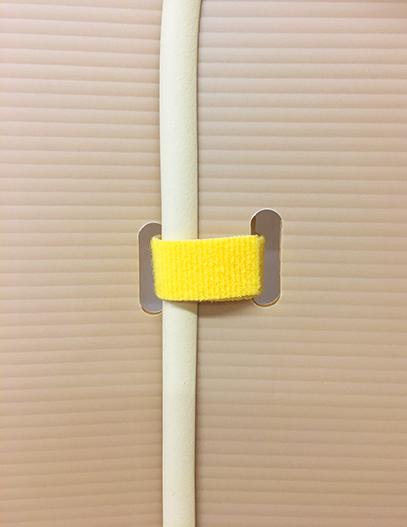 コンパクトパーテーション〈二つ折り 全身用 追加板〉拡大