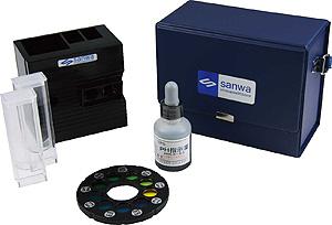ダイヤル式 pH 測定器