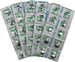 DPD高濃度残留塩素測定用錠剤試薬No.3